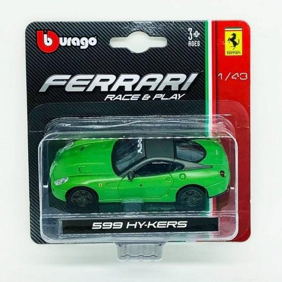 Autito Ferrari Hy-Kers A Escala Coleccionable