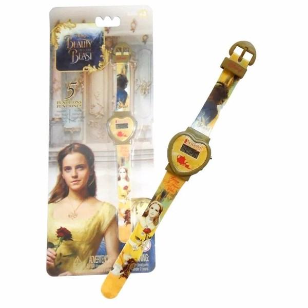 Reloj Digital La Bella Y La Bestia Juguete