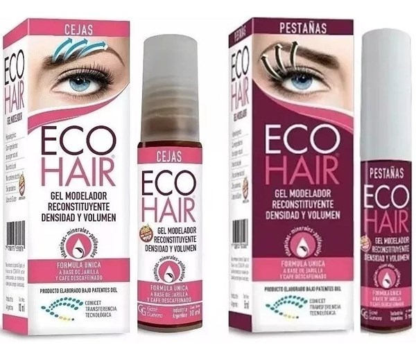 Eco Hair Pestanas + Eco Hair Cejas de Regalo