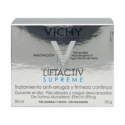 Vichy, Crema Liftactiv Supreme Piel Normal A Mixta X 50 Ml + Liftactiv Supreme 10ml
