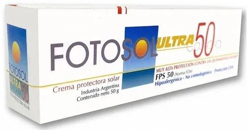Fotosol Ultra Protector Solar Crema SPF 50+ 50g