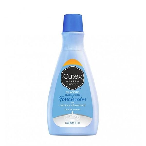 Cutex Quitaesmalte Fortalecedor 50ml