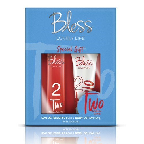 Bless Lovely Life Two Combo (EDT 50ml + Body Lotion 120gr)