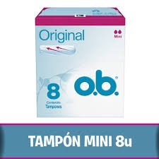 O.b Tampones Mini Original x8u