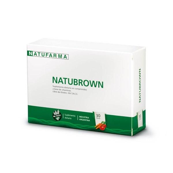 Natubrown Probiotico x 30 Comprimidos