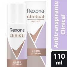 Rexona Women Antitranspirante Clinical Extra Dry Aerosol 110 ml