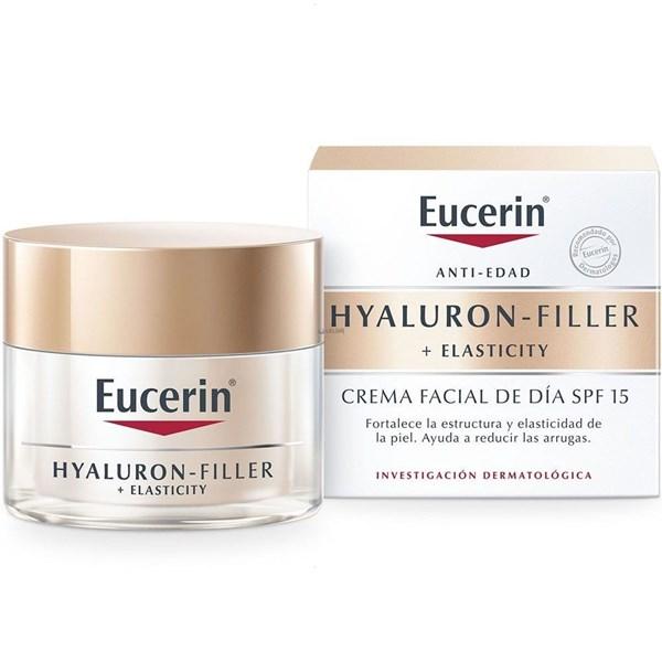 Eucerin Hyaluron-Filler crema facial de dia FPS 15 + Elasticity