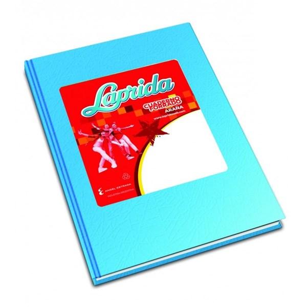Cuaderno Laprida Araña Celeste x 50 hojas