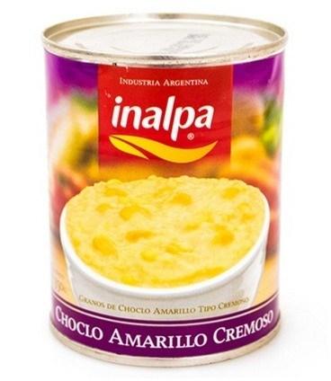 CHOCLO CREMOSO AMARILLO INALPA x 350 G