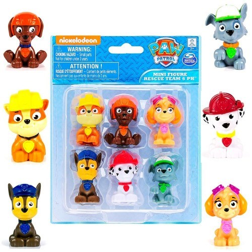 Muñecos Paw Patrol x6