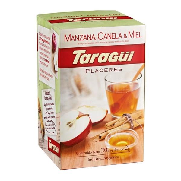 TE TARAGUI MANZANA - CANELA - MIEL x 25 U