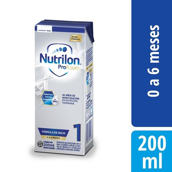 Leche Nutrilon 1 Pro Futura Brick X 200 Ml