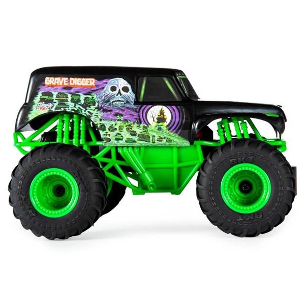 Camioneta A Escala Monster Jam Grave Digger  alt