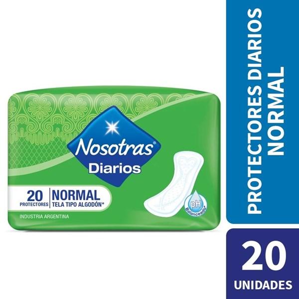 Nosotras, Protectores Diarios Normal 20 un