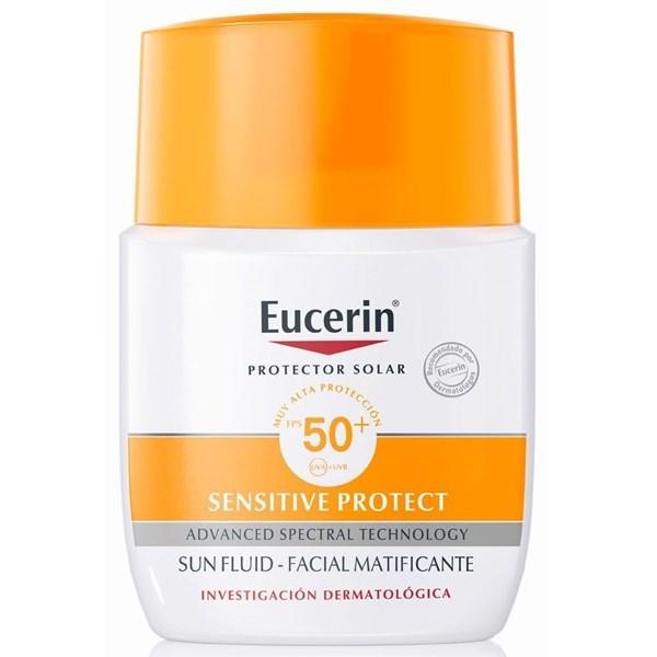 Eucerin Fotoprotector Fluido Matificante Sun FPS 50+ 50ml
