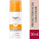 Protector Solar Eucerin Facial Con Color 50fps T Medio 50ml #1