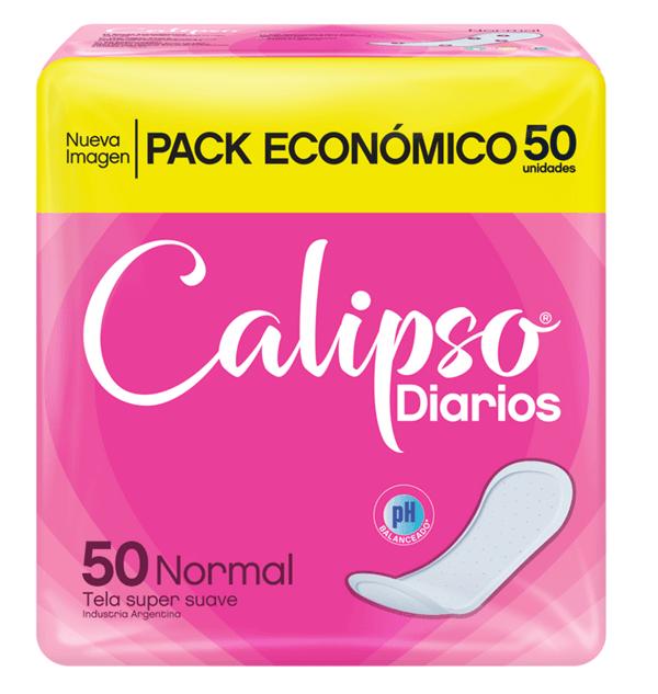 CALIPSO Protectores diarios NORMAL x 50 uns