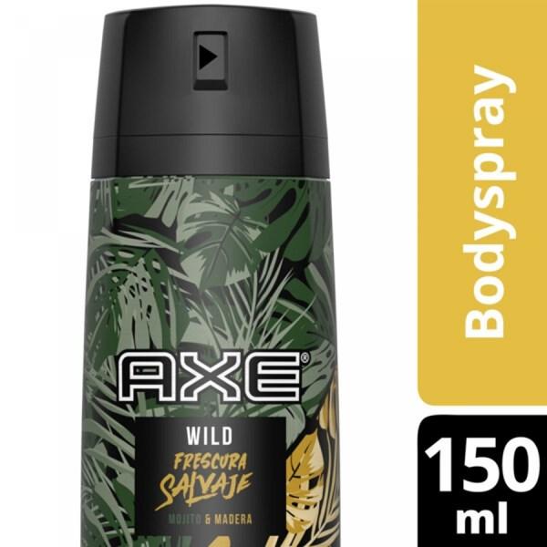 Axe Desodorante En Aerosol x97g Frescura Salvaje