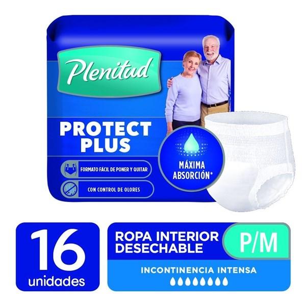 Plenitud Ropa Int Protec Plus P/m X 16