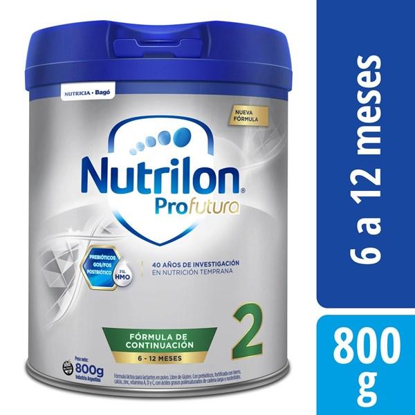Leche Nutrilon 2 Pro Futura Lata X 800 Gr