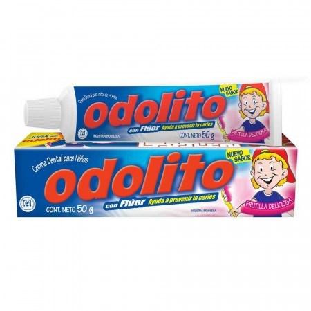 Odolito Crema Dental Niños Frutilla 50g