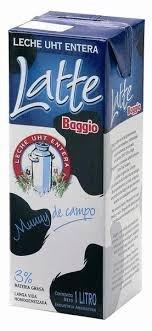 LECHE BAGGIO ENTERA* x 1 L