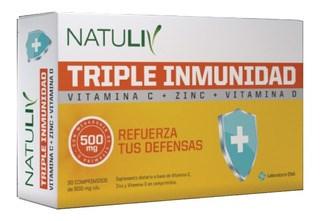 Natuli Triple Inmunidad x30 Comprimidos