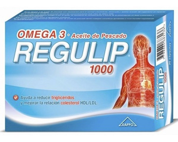Regulip Omega 3 Aceite de Pescado 1000  50 caps