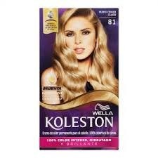 Koleston Kit N° 81 Rubio Ceniza Claro