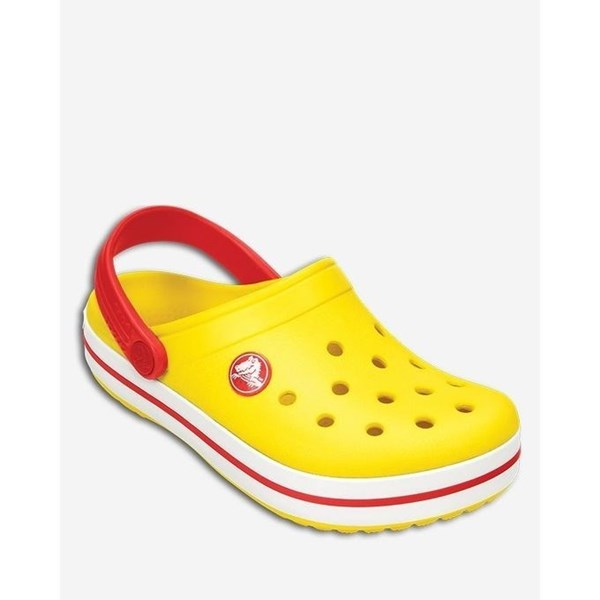Crocs Band Kids Yellow Red Nº 31 alt