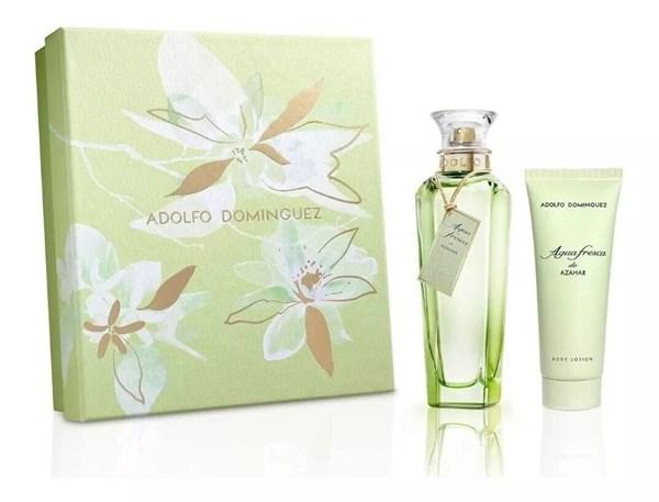 Perfume Adolfo Dominguez Agua Fresca De Azahar Set Edt+loc