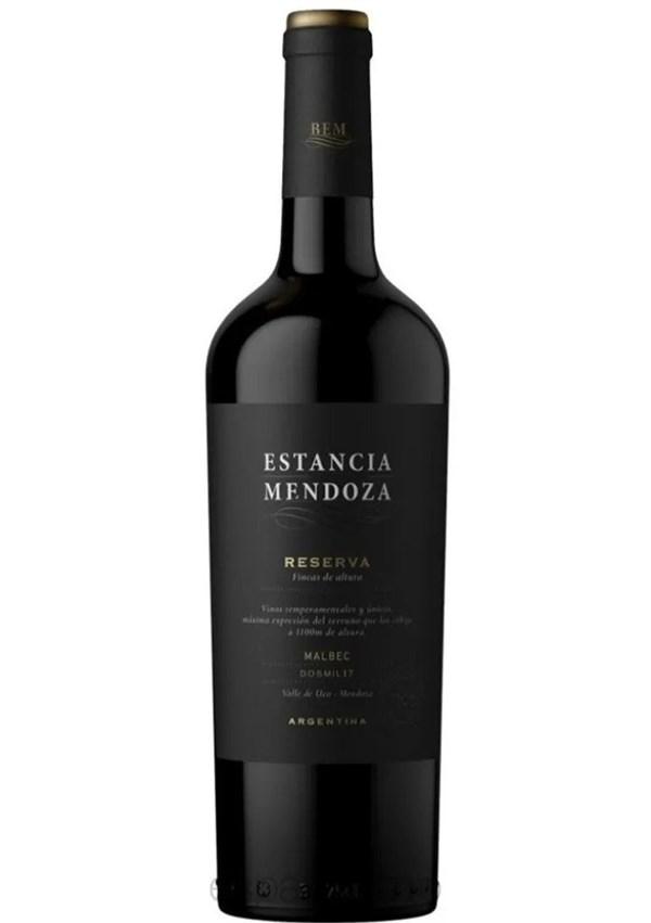 ESTANCIA MENDOZA RESERVA MALBEC x 750 CC