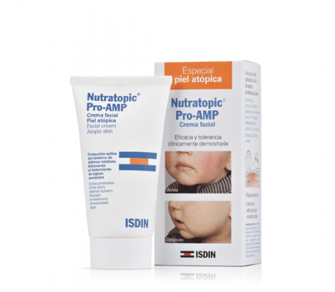Nutratopic Pro Amp Isdil Crema Facial X 50 Gr
