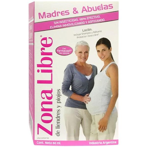 Zona Libre Madres Y Abuelas Combo (Loción + Shampoo + Bálsamo)