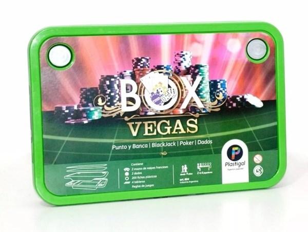 Box Vegas (Punta Y Banca, Poker, BlackJack, Dados)