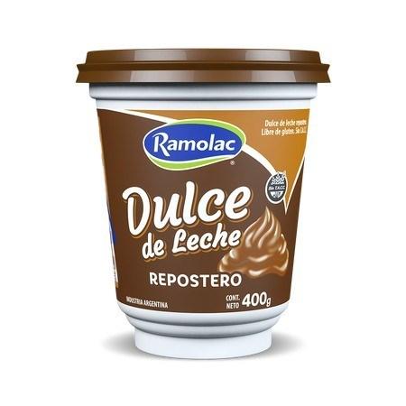 DULCE DE LECHE RAMOLAC REP. x 400 G