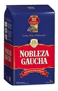 YERBA NOBLEZA GAUCHA AZUL x 500 GRS