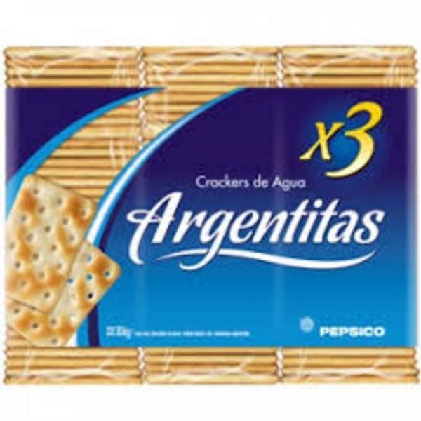 GALLETITAS DE AGUA TRIPACK x 306 GRS - ARGENTTITAS-