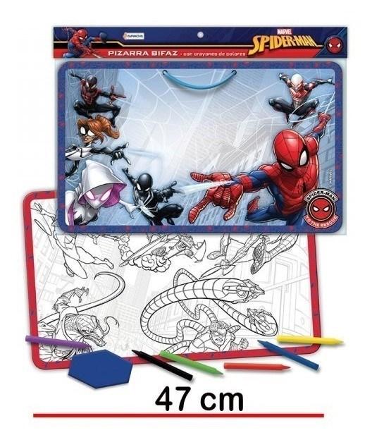 Pizarra Bifaz Spiderman alt