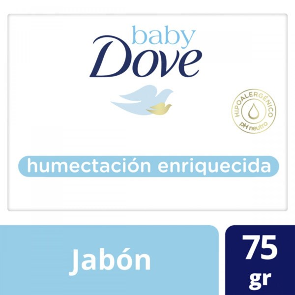 Jabón Dove Baby Humectación Enriquecida X 75 Gr