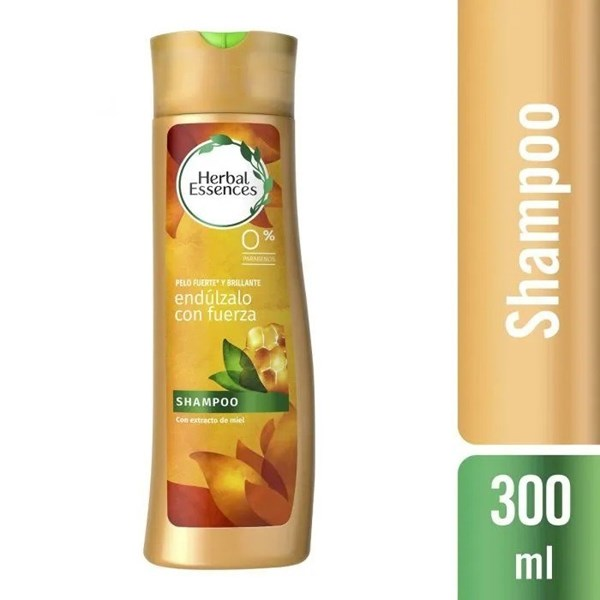 Herbal Essences Shampoo x 300ml Endúlzalo Con Fuerza