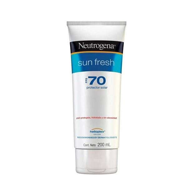 Protector Solar Neutrogena Sun Fresh Crema Fps 70 200ml