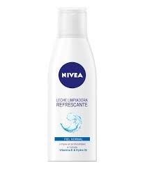 Nivea Crema Leche Limpiadora Facial Refrescante. Piel Normal