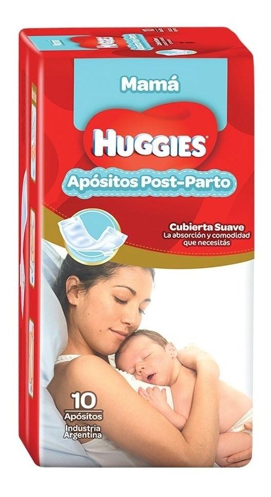 Huggies Apositos Post-parto x10