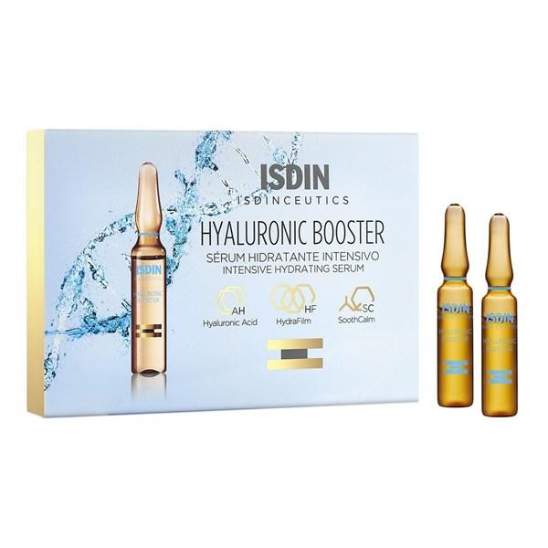 Isdin Ampollas Hidratantes Isdinceutics Hyaluronic Booster x5  alt