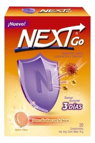 Antigripal con Vitamina C Next Go 20 Comprimidos