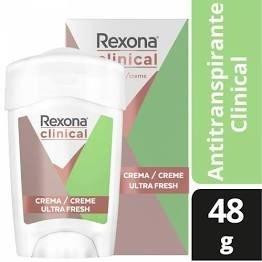 REXONA Desodorante Antitranspirante Clínical Soft Ultra Fresh 48 Gr