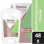 REXONA Desodorante Antitranspirante Clínical Soft Ultra Fresh 48 Gr  #1