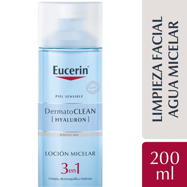 Dermato Clean Eucerin Loción Micelar Limpiadora 3 En 1 X 200 Ml