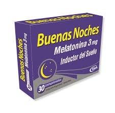 Buenas Noches Inductor Del Sueño x30 comprimidos
